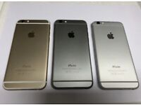iPHONE 6 128GB, WITH SHOP RECEIPT & WARRANTY, GOOD CONDITION, UNLOCKED, MOST COLOURS