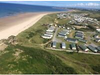 Luxury 6 Berth Caravan for hire Silver Sands, Lossiemouth