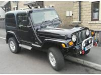 Jeep Wrangler with multipoint LPG