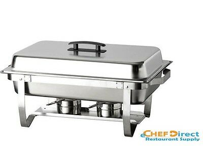 Stainless Steel Full Size Chafer With Folder Frame Chafing Dish For Catering