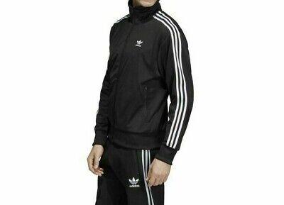 Adidas Originals Men's Firebird Track Jacket  NEW AUTHENTIC Black/White DV1530