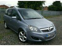 2008 Vauxhall Zafira 1.9 CDTI SRi 5dr
