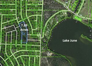 Almost 8 Acres (private, secluded) in sunny Lake Placid, Florida