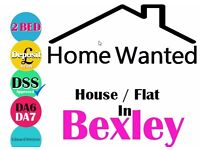 WANTED 1/2 bed HOUSE, FLAT DSS Approved