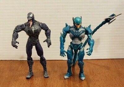 Spider-man 3 Movie Venom and Poison Blast Scorpion Action Figures