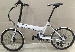 mongoose folding 20'' bicycle