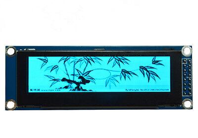 New Blue 3.12 256x64 Pixel Oled Led Display Module Parallel Spi Ssd1322