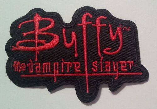 """Buffy The Vampire Slayer~Embroidered Applique Patch~TV Series~4 1/4""""~Iron Sew"""