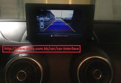 Audi A3 8v MIB Reverse  rear view  Backup Camera system Retrofit Interface kit