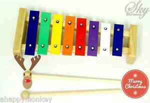 Great-Gift-8-Note-Childrens-Xylophone-Kids-Musical-Toy-Holiday-Special