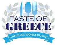 Canada's Wonderland Taste of Greece August 19th, 2017