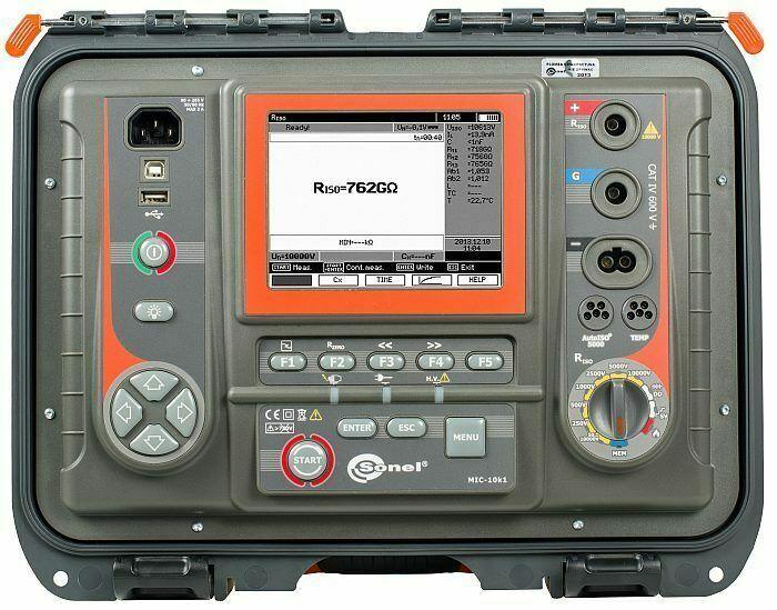 Sonel MIC-10k1 10kV Insulation Tester  40 TΩ MegOhmMeter Insulation Resistance