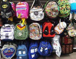 Pop Culture Bags & Backpacks - Marvel Dr Who DC Comics Star Wars Coburg North Moreland Area Preview