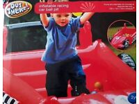 New inflatable racing car ball pit