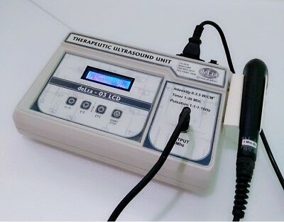 Ultrasound Therapy 3 Mhz Pain Relief Ultrasound Therapy Unit Model Delta 03