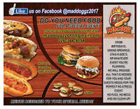 Let Maddoggz Cater Your Next Party!