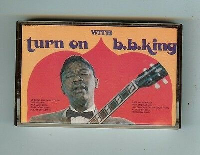 B.B. KING - TURN ON WITH - CASSETTE - USED