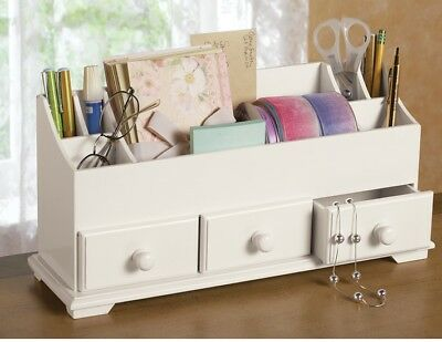 Desk Drawer Makeup Storage Organizer 3 Drawer Organizer