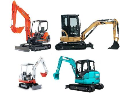 EXCAVATOR HIRE  WITH OR WITHOUT OPERATOR