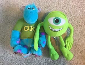 Mike and Sully Talking Plush Toys