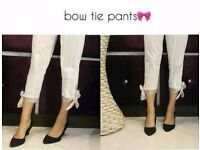 clearnce bow pants