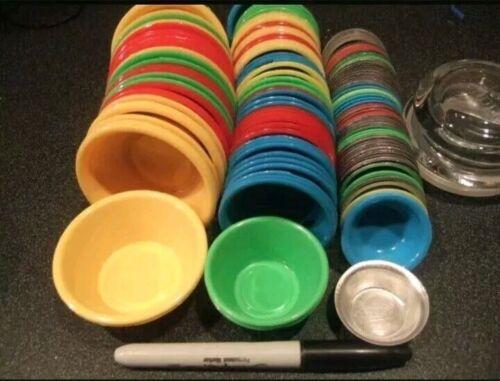 20pcs. LARGE Puto Molder , Pichi - Pichi, Kutsinta Plastic Mold 1