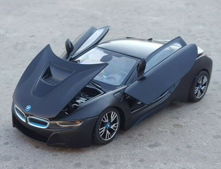 Rastar 1 24 Bmw I8 Concept Car Diecast Model New In Box Black Ebay
