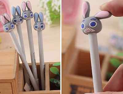 2 x Cute Rabbit Bunny Cartoon Fine pens Party Cute Kids novelty stationery Fun