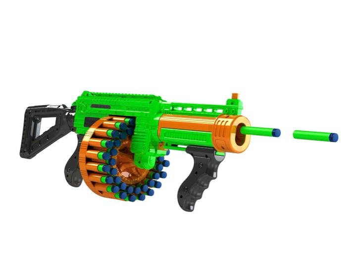 New 43 PIECES Foam Dart Nerf Gun Pump Action Blaster Shootin