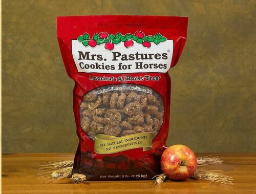 Mrs Pastures Horse Cookies 5 pound bag Treat Treats Snacks All Natural