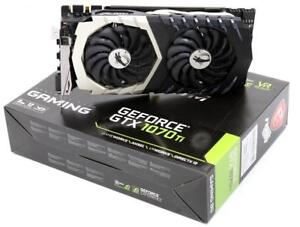 MSI GTX 1070 TI Titanium 8G Graphic Cards