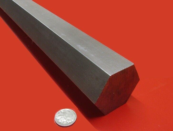 "1018 Carbon Steel Hex Rod 2"" Hex  x 3 Foot Length"