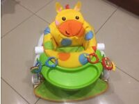 Fisher Price sit-me-up feeding booster seat