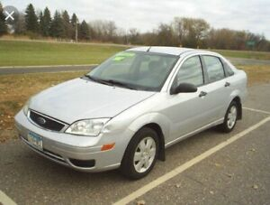 2007 silver Ford Focus