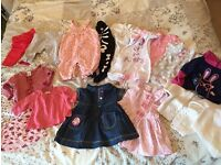 Baby girls clothes bundle 0-3 months 40+ items