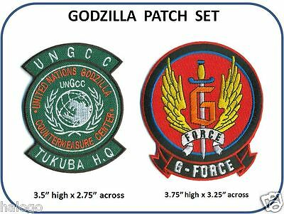 GODZILLA MOVIE PATCH SET - GODZ SET