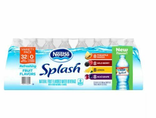 Nestle Splash Variety Pack 16.9oz / 32pk - free shipping