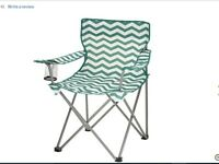 new unused folding camping / fishing chair