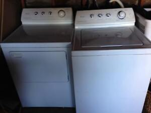 MAYTAG WASHER & ELECTRIC DRYER SET VERY CLEAN WORKING GREAT 400