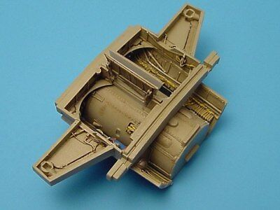 Aires 1/48 Messerschmitt Me262A Cockpit and Wheel Bays for Tamiya kit 4148