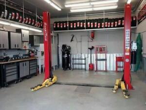 Lift 9000Lbs Snap-Tech Pont elevateur Machine a pneus Machine a balancer wheel Balancer Hoist Compresseur Demonte pneus