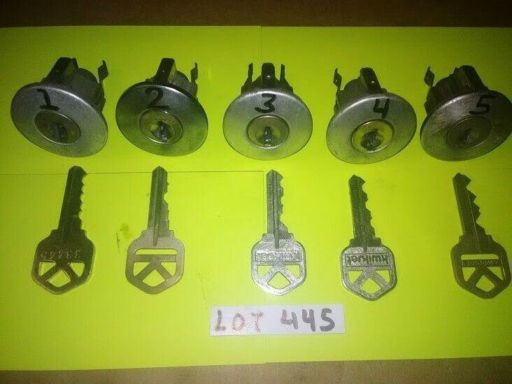 5 PCS. PROGRESSIVE CHALLENGE LOCK SET...(SPOOL PINS) PICKERS, STUDENTS, LOT #445