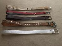 5 fashion belts