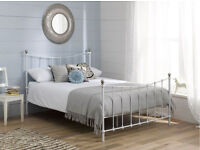 Girls Single Bed (Without Mattress)