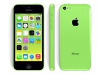 Iphone 5c green on ee boxed