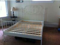 Leirvik double bed frame