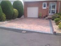 Decking paving driveways Indian stone flagging sameday garden services fencing turf lawns free quote