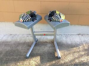 Ironman adjustable dumbbells 2.5lbs - 55lbs with stand