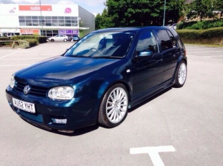 Vw golf mk4 2002 1 9 tdi r32 replica alloys body kit springs interior  injectors upgrade | in Burnley, Lancashire | Gumtree