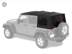 Complete 2008 Jeep Wrangler Unlimited Soft Top